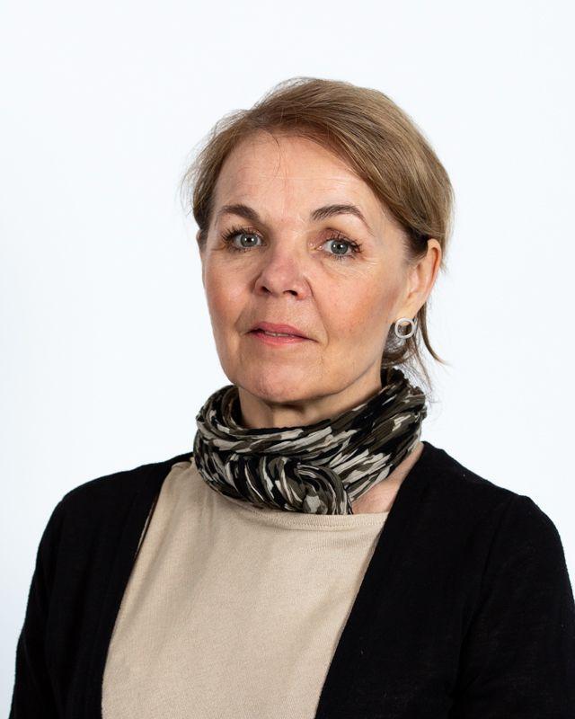 Kuvassa: Birgit Bergström