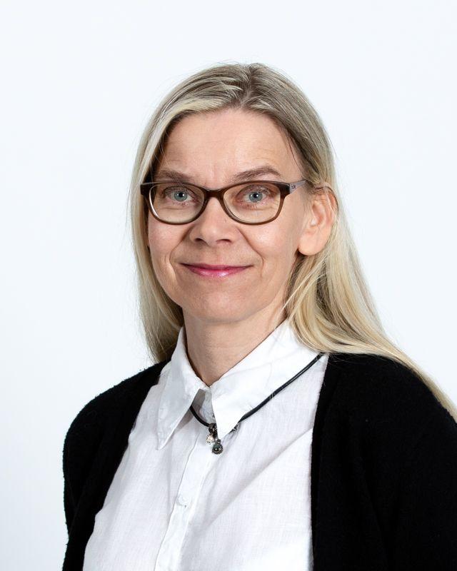 Kuvassa: Virpi Ahlqvist